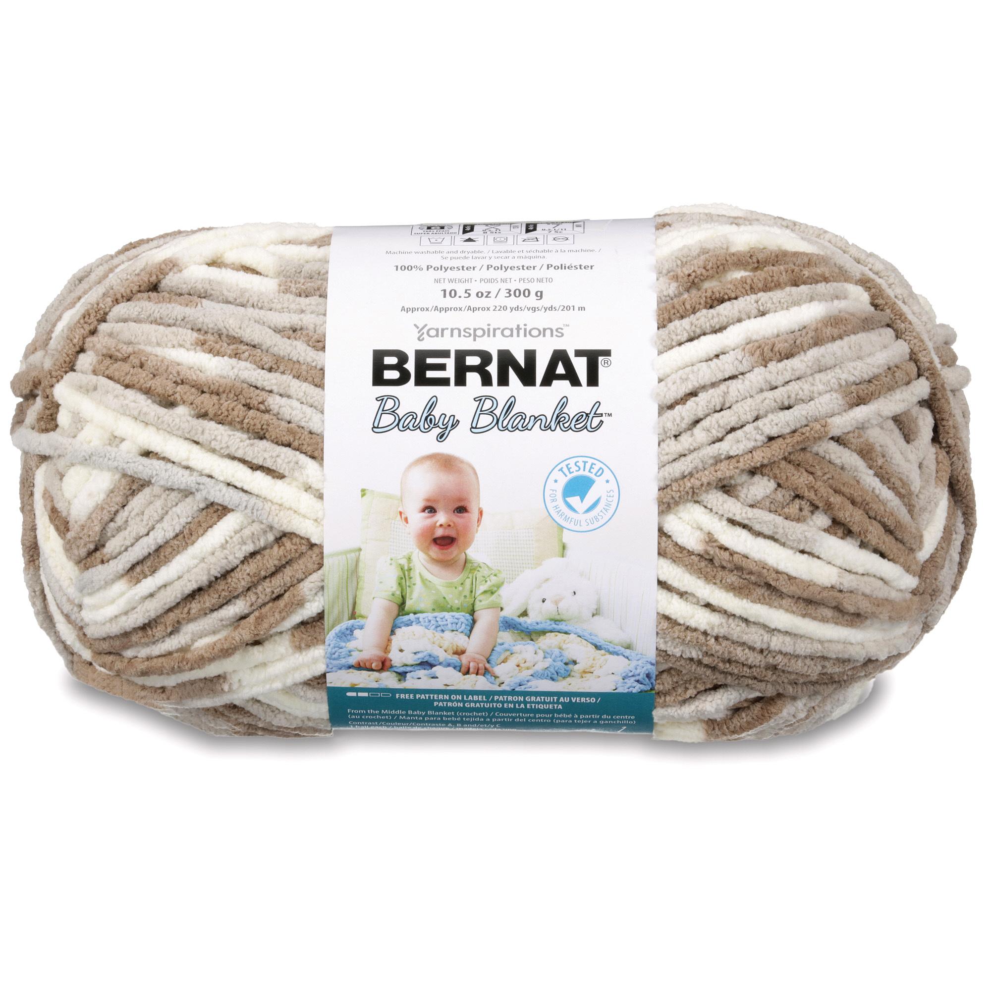 Spinrite Baby Blanket Big Ball Yarn Little Sandcastles 066122   eBay